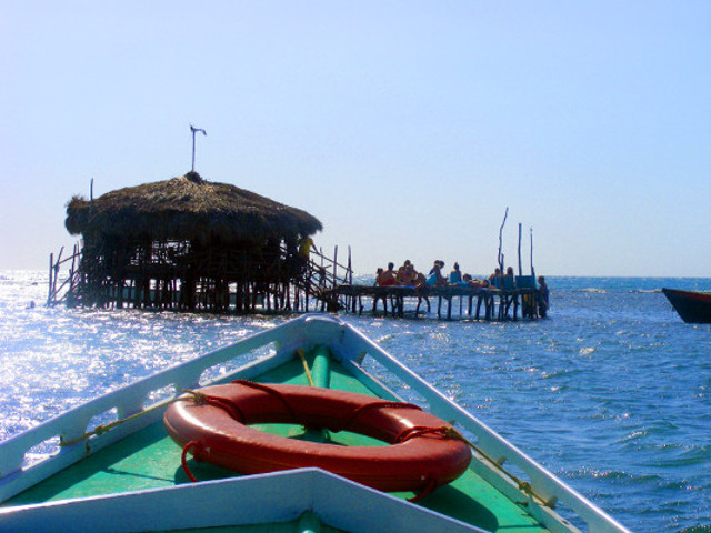 Approaching Pelican Bar_1 Jamaica Tour Packages