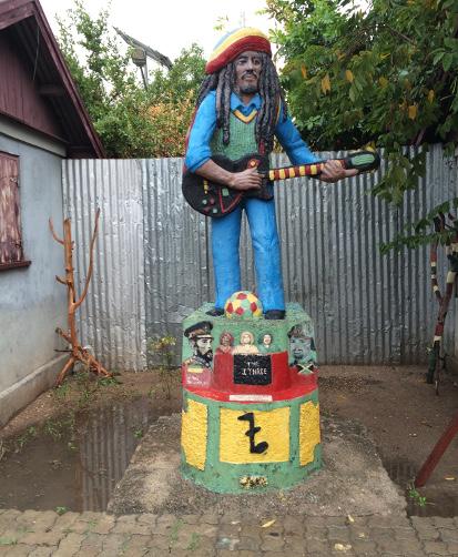 Bob Marley Trench Town Yard Jamaica Tour