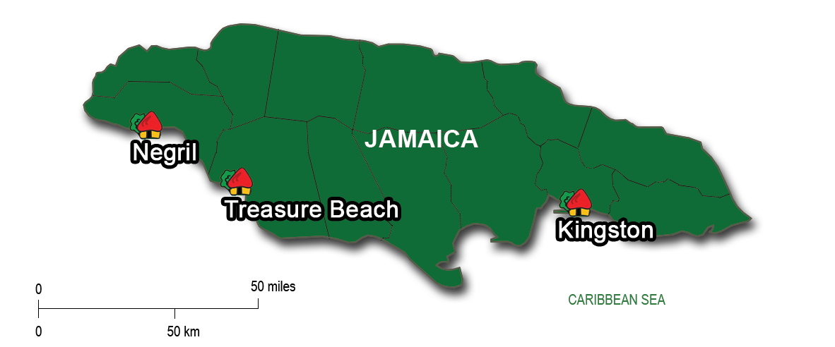 From Kingston to Treasure Beach & Negril