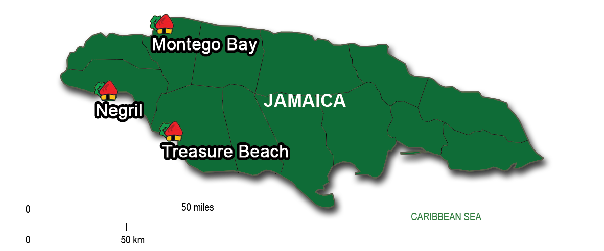 From Montego Bay to Treasure Beach & Negril