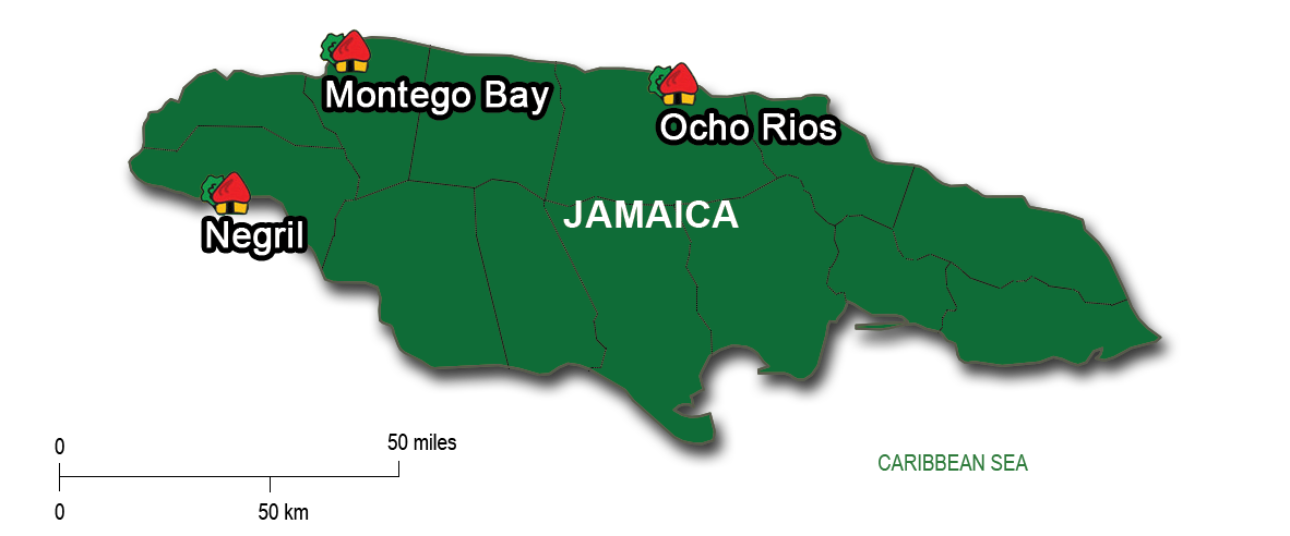 From Negril to Montego Bay & Ocho Rios